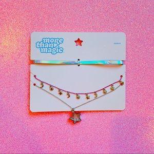 Jewelry - NEW kawaii more than magic brand chokers nwt